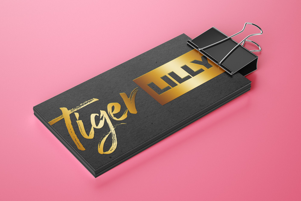 Business Cards Design - Specialized Gold